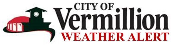 City of Vermillion: Weather Alert Logo