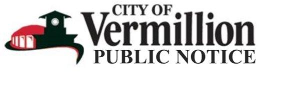 City of Vermillion Logo - Public Notice