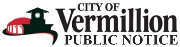 City of Vermillion: Public Notice Logo