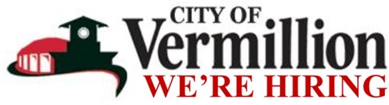City of Vermillion Logo - We're Hiring