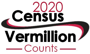 Vermillion 2020 Census Logo