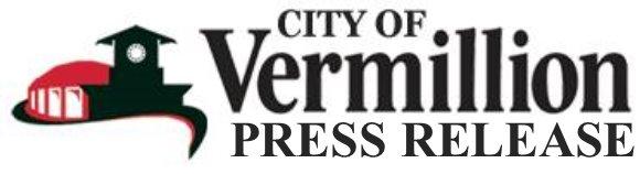 City of Vermillion Logo - Press Release