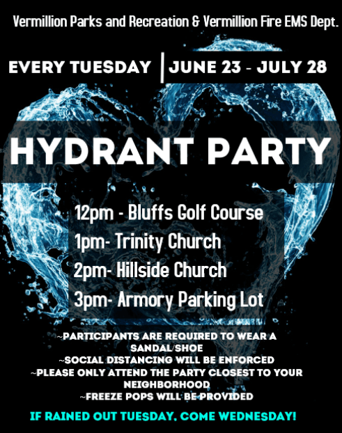 2020 Hydrant Parties Poster