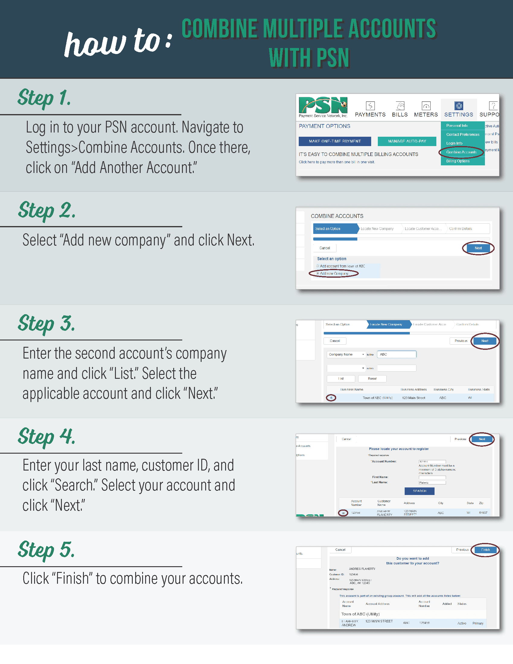 How to Merge Your PSN Accounts Infographic Opens in new window