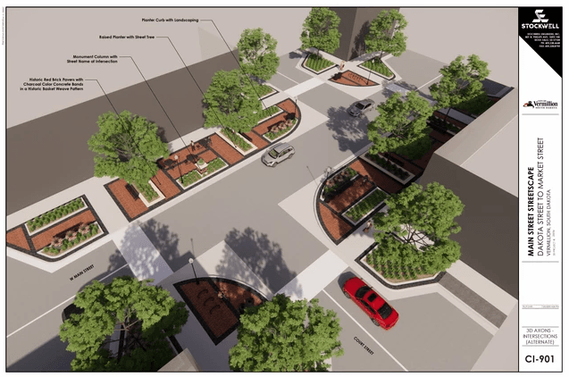 2020_Conceptual Downtown Streetscape Plan_Option A Opens in new window