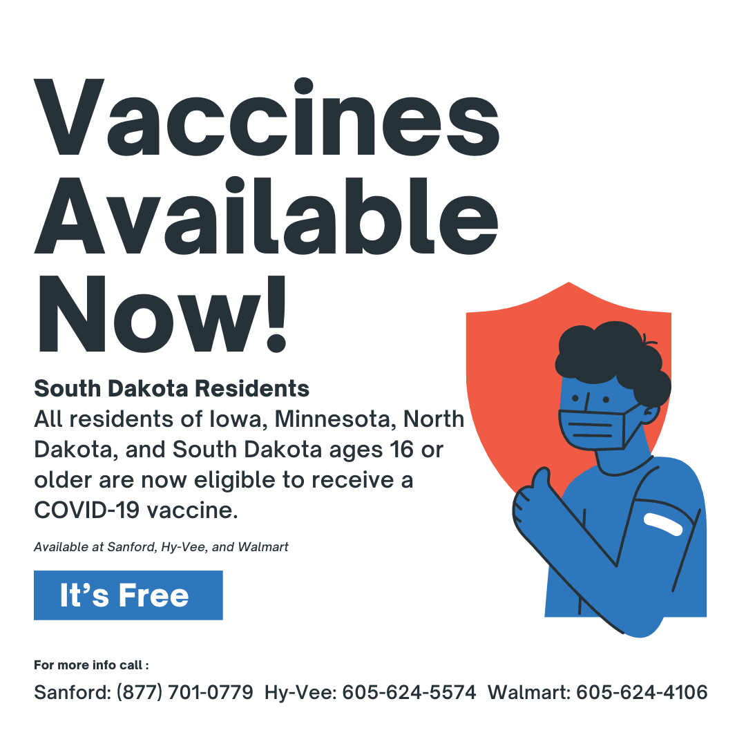 Flyer - Vaccines Available